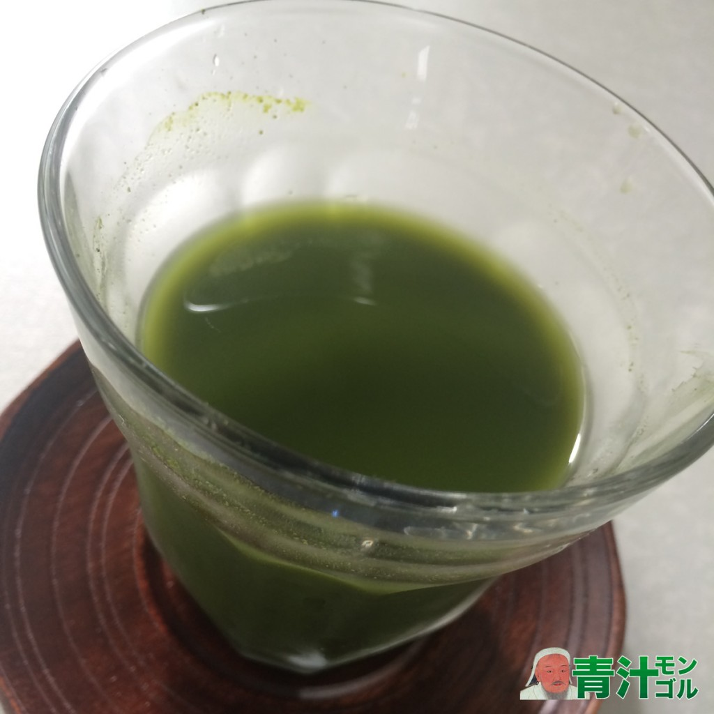 神仙桑抹茶ゴールドの水割り