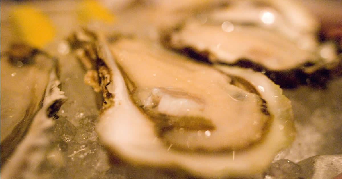 亜鉛が豊富に含まれていそうな牡蠣