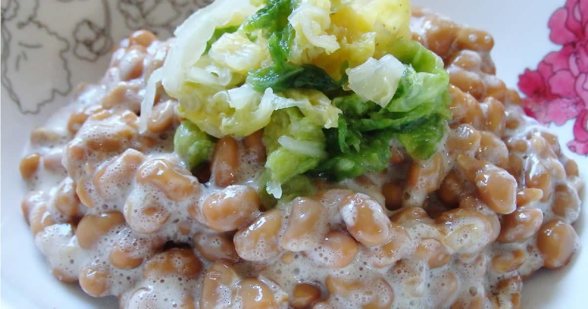 ビタミンB2が豊富な納豆